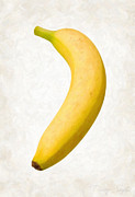 Organic Paintings - Banana by Danny Smythe