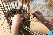 Basket Photo Originals - Basket Making by Paul Felix