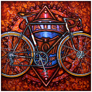 Chainring Paintings - Bates by Mark Howard Jones