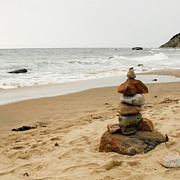 Ludo Photos - Beach Cairn  by Dawn Romine