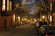All Acrylic Prints - Beacon Hill Romance by Juergen Roth
