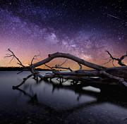 Milkyway Framed Prints - Beautiful Chaos Framed Print by Aaron J Groen