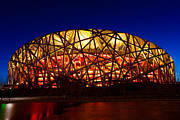 Fototrav Print - Beijing National Stadium by night The...