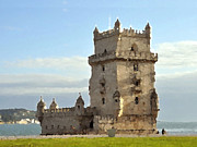 S Art - Belem Tower Lisbon Portugal III...