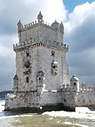 S Art - Belem Tower Lisbon Portugal IV...