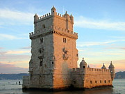 S Art - Belem Tower Lisbon Portugal V Fortified...