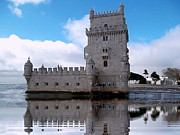 S Art - Belem Tower Lisbon Portugal VI...