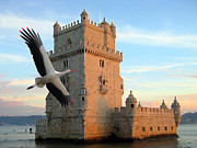 S Art - Belem Tower Lisbon Portugal VII...