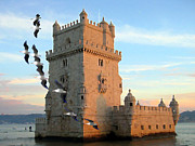 S Art - Belem Tower Lisbon Portugal VIII...