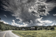 Vermont Photos - Bend in the Road by Nathan Larson