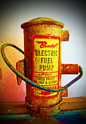 Bendix Fuel Pump Fine Art Print by Barbara McDevitt