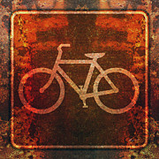 Freeway Digital Art - Bicycle Trail by Anthony Ross