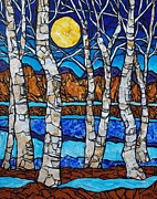 Tracy Levesque - Birch Meadow Moon