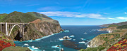 David  Zanzinger - Bixby Bridge Biig Sur CGI Panorama