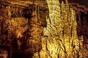 Arkansas Digital Art Posters - Blanchard Springs Caverns-Arkansas Series 05 Poster by David Allen Pierson