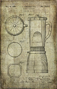 Processor Prints - Blender Patent Print by Caffrey Fielding