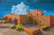 Jerry McElroy - Blue Cloud Pueblo