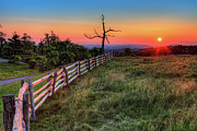 Dan Carmichael - Blue Ridge Sunrise at Doughton I