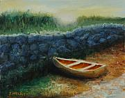 Jerry McElroy - Boat by the Breakwall