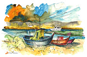 Miki De Goodaboom - Boats in Carrasqueira in Portugal 01