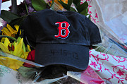 Red Sox Metal Prints - Boston Strong Metal Print by Mike Martin