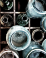 Mason Jars Photos - Bottle Bonanza I by Debra Pruskowski