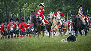 Revolutionary War Originals - British Brigade by Bruce Neumann