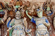 Fototrav Print - Buddhist statue at Dazu Stone carvings...