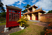 Fototrav Print - Building in the Imperial City of Hue...