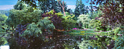 David  Zanzinger - Butchart Gardens is a group of floral...