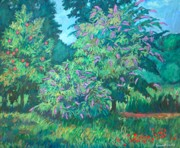 Kendall Originals - Butterfly Bushes by Kendall Kessler