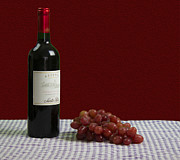 Vin Photo Prints - Cabernet Sauvignon Print by Jacqueline Barden