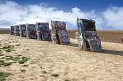 Installation Art Photos - Cadillac Ranch by Greg Kopriva