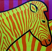 Irish Originals - Cadmium Zebra by John  Nolan