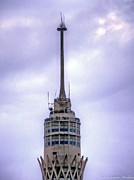 Karam Halim Metal Prints - Cairos Gazira  Tower  Metal Print by Karam Halim