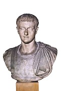 Youthful Photo Framed Prints - Caligula, Gaius Caesar Germanicus Framed Print by Everett
