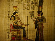 Egypt Tapestries - Textiles - Calling Of The Godess by Joshua Massenburg