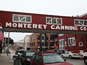 Fishery Prints - Calm Morning At Monterey Cannery Row California 5D24763 Print by Wingsdomain Art and Photography