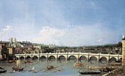The North Framed Prints - Canaletto, Giovanni Antonio Canal Framed Print by Everett