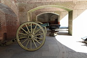 Wingsdomain Art and Photography - Cannon at San Francisco Fort Point...