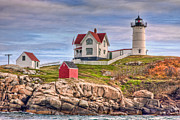 Clarence Holmes - Cape Neddick Nubble Lighthouse II