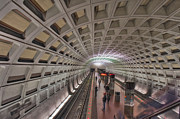 David  Zanzinger - Capitol Subway Station Platform...