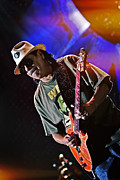 Live In Concert Art - Carlos Santana on Guitar 7 by The  Vault
