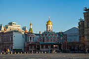 Russian Icon Photos - Cathedral of Our Lady of Kazan by Alexander Senin