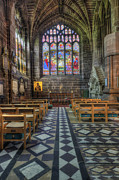 Stained Glass Window Photos - Cathedral Window by Ian Mitchell