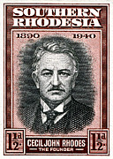 Stamps Art - Cecil John Rhodes - 1.5d Crop by Outpost Imagery