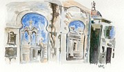 Cemetary Paintings - Cementario de la Recoleta by Lauren White