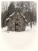Edward Fielding - Chapel in the Woods Stowe Vermont