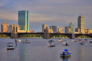Longfellow Prints - Charles River Sunset - Boston Print by Joann Vitali