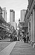Steve Harrington - Chartres Street monochrome